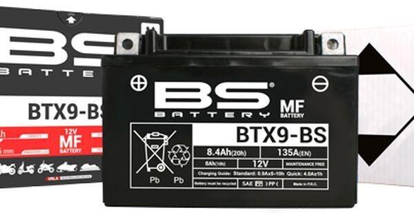 აკუმულატორი - BTX9-BS (YTX9-BS)