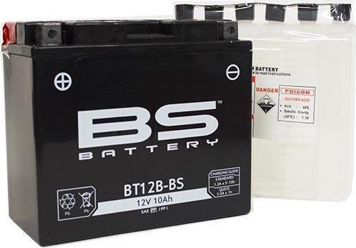 აკუმულაოტრი - BT12B-BS (YT12B-BS)