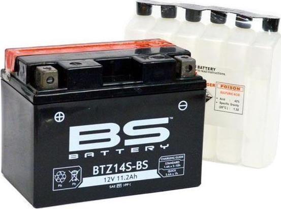 აკუმულატორი - BTZ14S-BS (YTZ14S-BS)