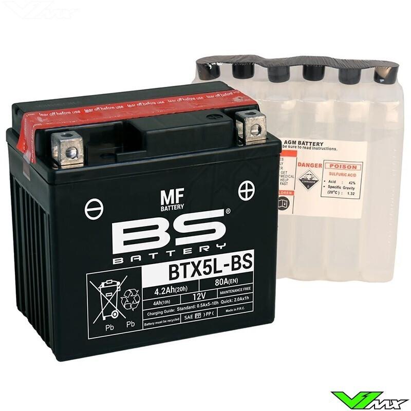 აკუმულატორი - BTX5L-BS (YTX5L-BS)