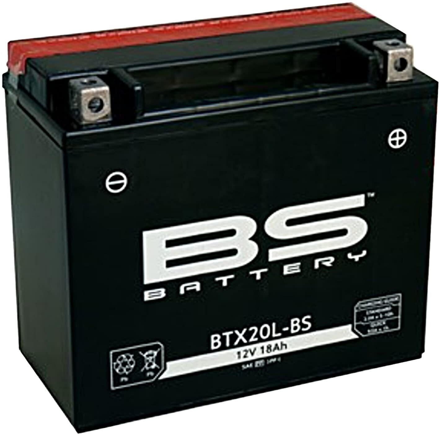 აკუმულატორი - BTX20L-BS (YTX20L-BS)