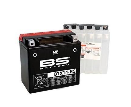 აკუმულატორი - BTX14-BS (YTX14-BS)