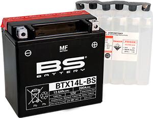 აკუმულატორი - BTX14L-BS (YTX14L-BS)