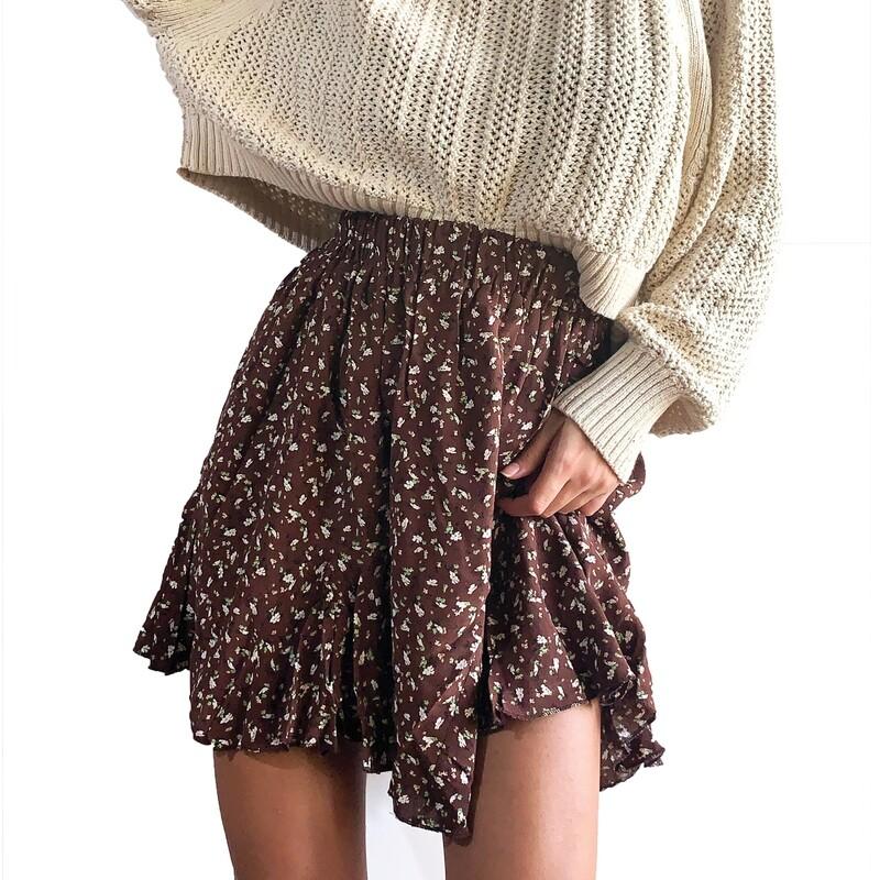 FLOWY  -skirt-