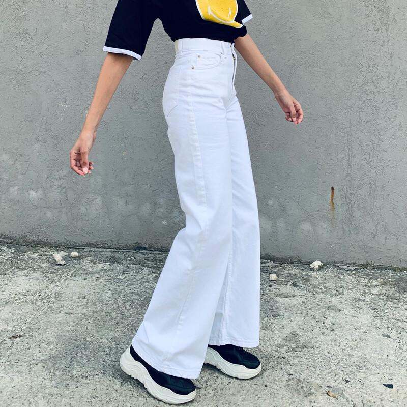 WHITE ADDICTION -denim Jeans-