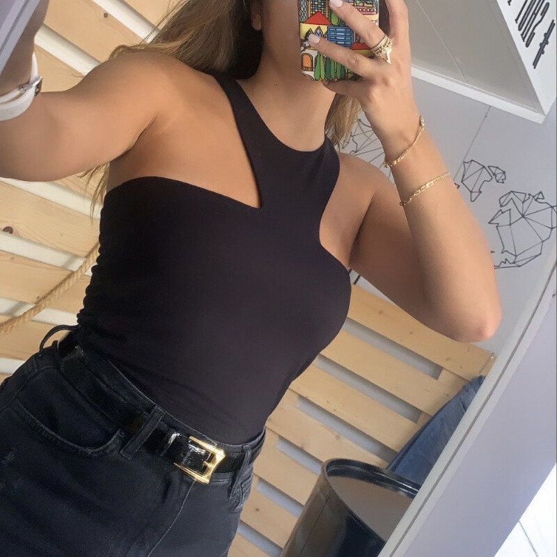 CUT OUT IN BLACK