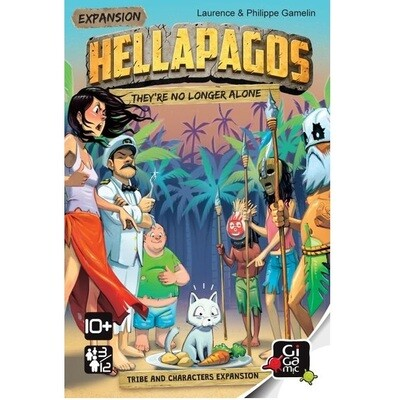 Hellapagos: They're No Longer Alone (Expansion)
