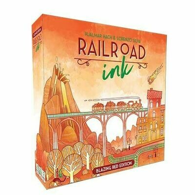 Rail Road Ink: Blazing Red Edition