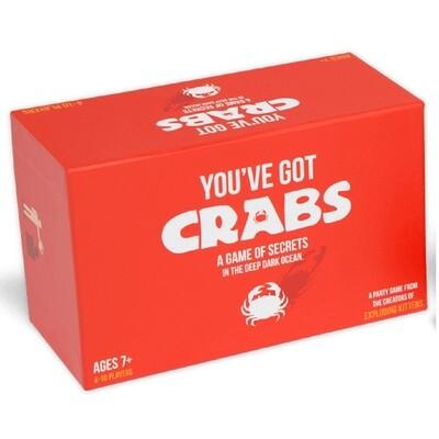 You've Got Crabs: A Card Game