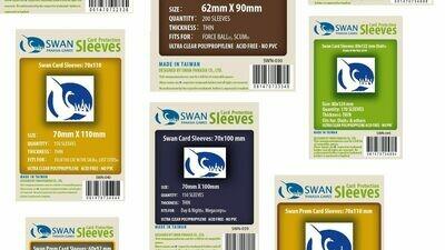 Swan Panasia Sleeves (56 x 87)
