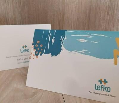 Lefko Greeting Card