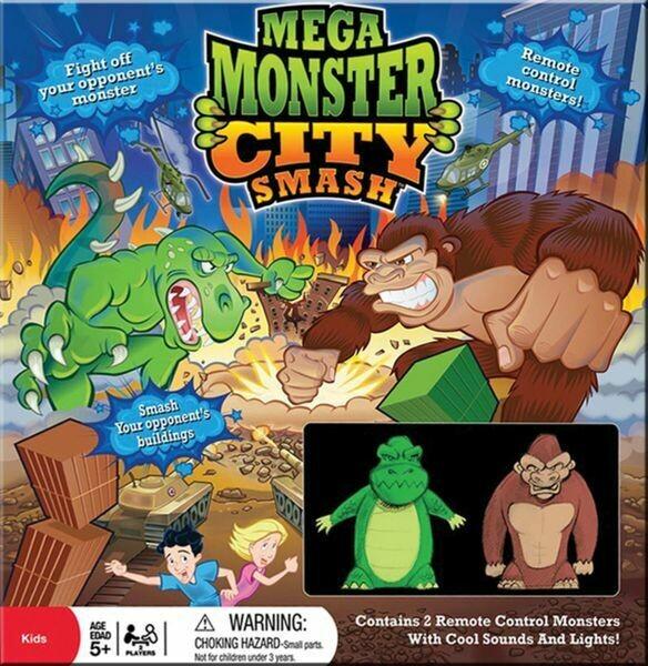 Mega Monster City Smash