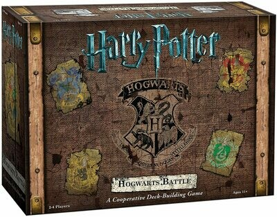 Harry Potter: Hogwarts Battle A Cooperative Deck-Building Game