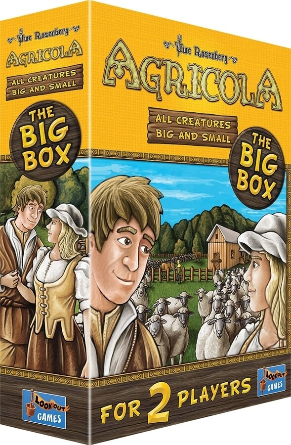 Agricola: All Creatures Big and Small- The Big Box