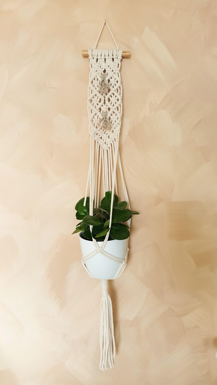 Zidni makrame držač za cvijeće