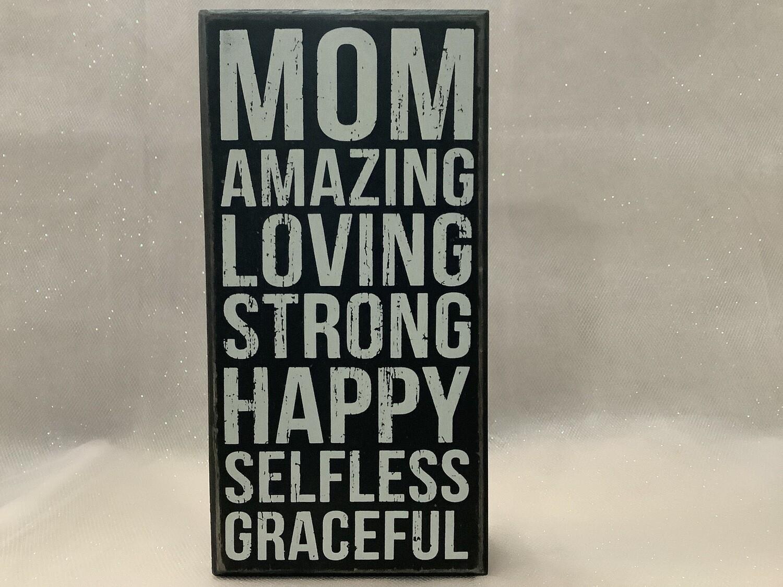 WOOD BOX - MOM AMAZING