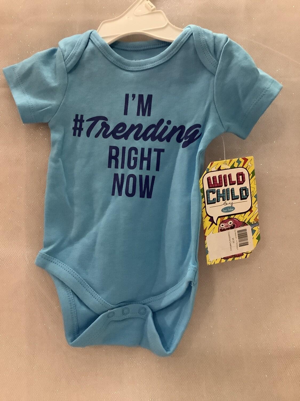 Baby Bodysuit - I'm Trending Right Now 0-3 MONTHS