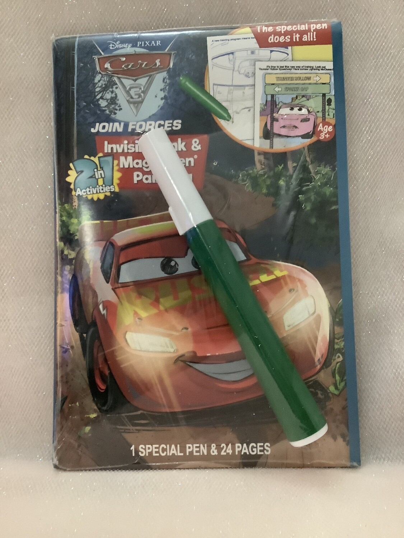 Licensed Magic Pen Book - Disney Pixar Cars