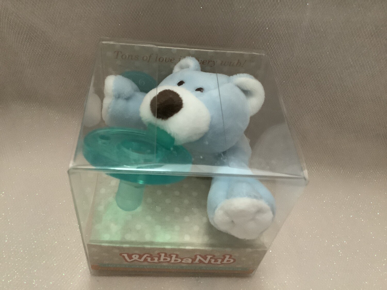 Wubbanub Pacifier - Blue Bear