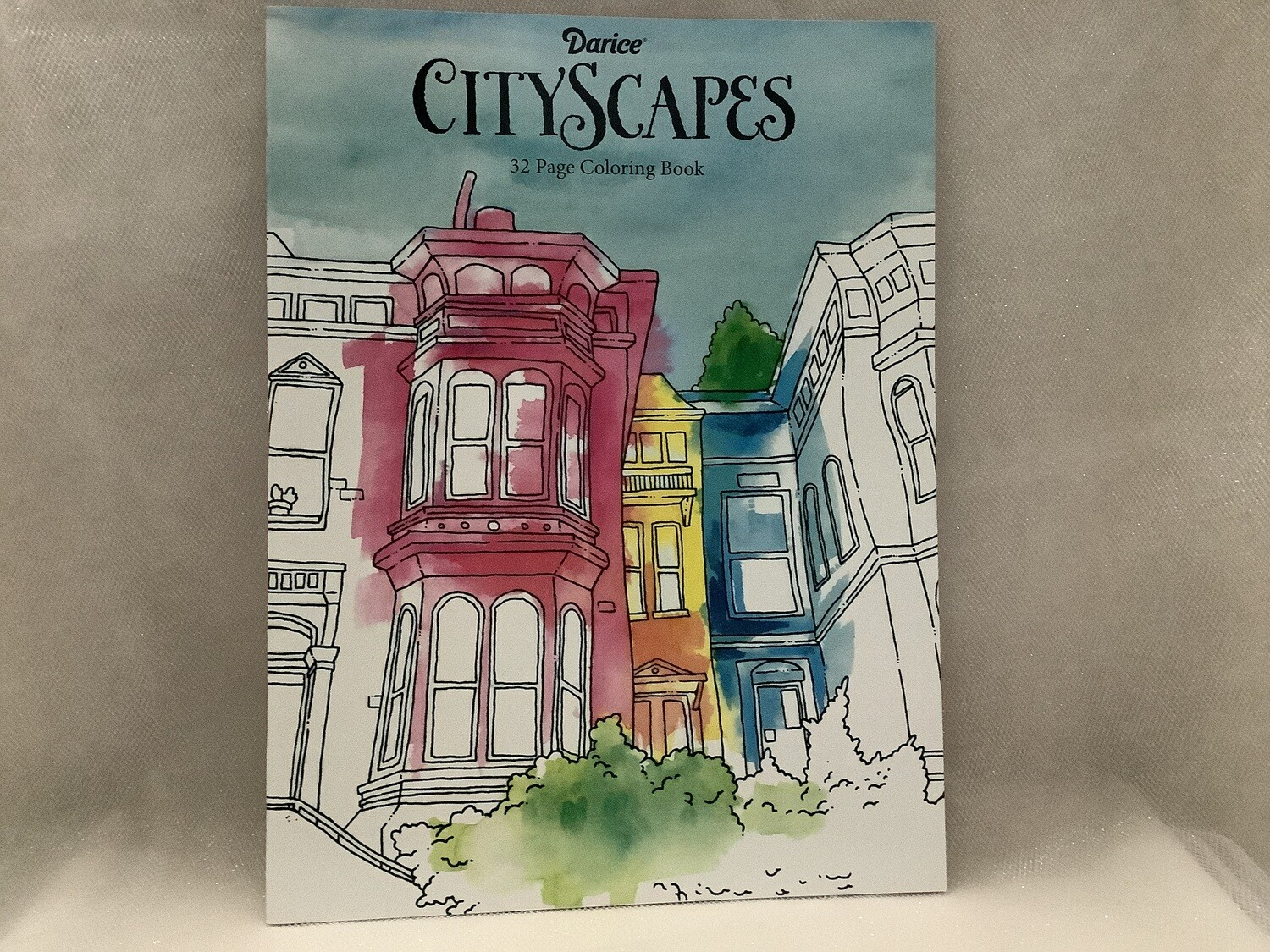 Adult Coloring Books - CITY SCAPES