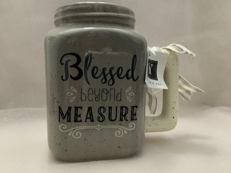 Ceramic Mason Jar Mugs