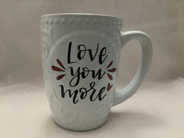 Boxed Ceramic Mug - Love You More