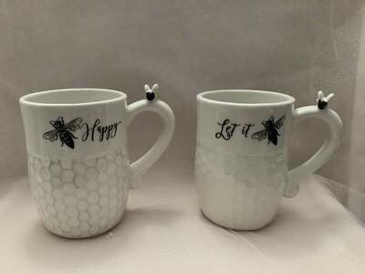 Ceramic Bee Mug -Assorted