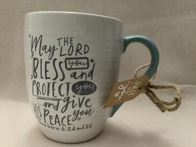 Ceramic Scripture Mug - Cup of Blessing