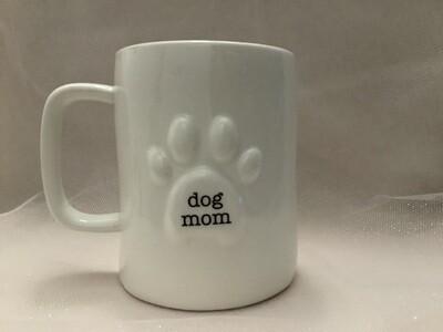 Organic Ceramic Mug - Dog Mom