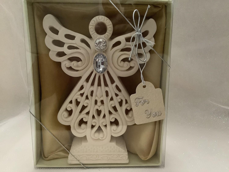 Standing LED Light-Up Angel