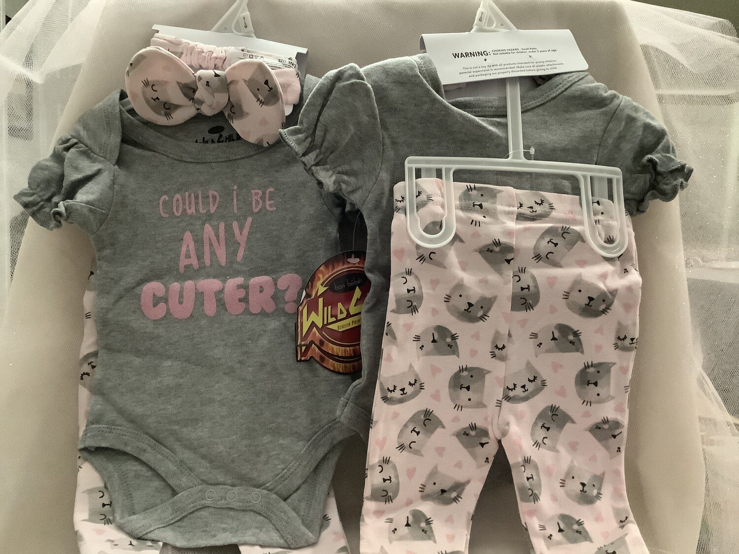 Baby Clothing Set - Could I Be Any Cuter 0/3M