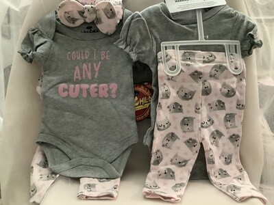 Baby Clothing Set - Could I Be Any Cuter 6/9M
