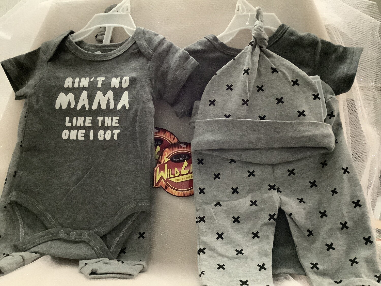 Baby Clothing Set - Ain't No Mama Like the One I Got 3/6M