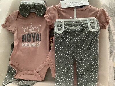 Baby Clothing Set - Her Royal Highness 6/9
