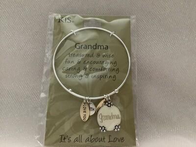 Symbology Bracelets - Family Themed Grandma