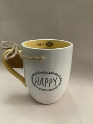 Ceramic Scripture Mug - Cup of Happy