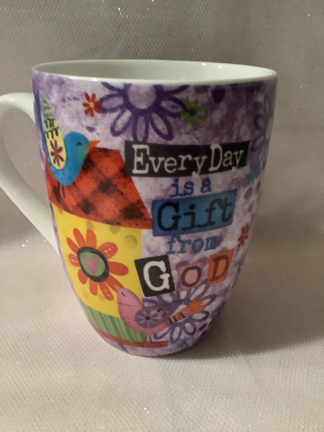 Scripture Mug - Every Day Is a Gift