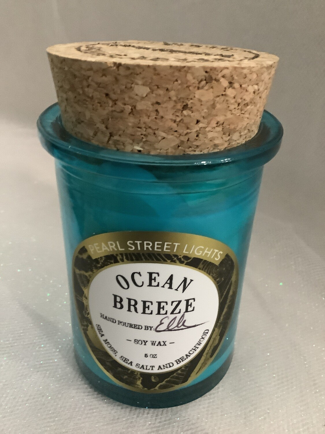 OCEAN BREEZE CRACKLING WOODEN WICK CANDLE SMALL