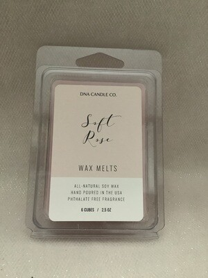 WAX MELT SOFT ROSE