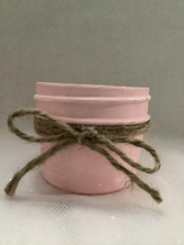 MASON JAR PINK SMALL