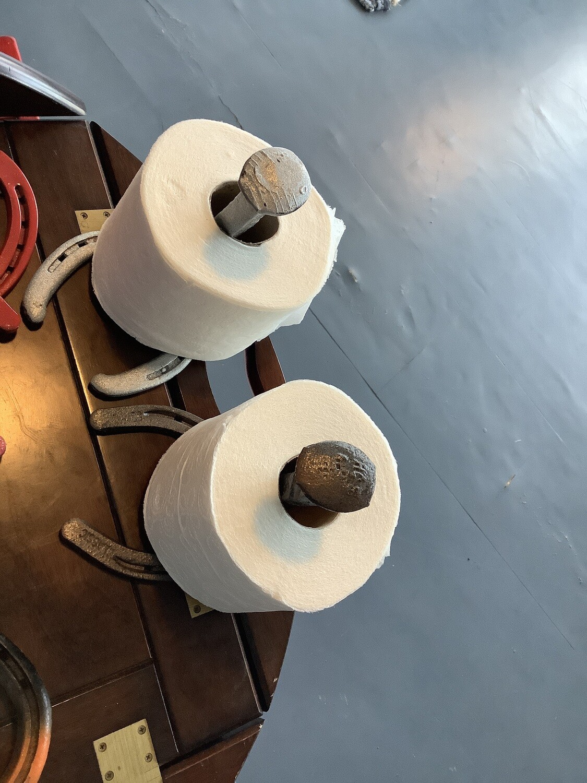 horseshoe paper holder