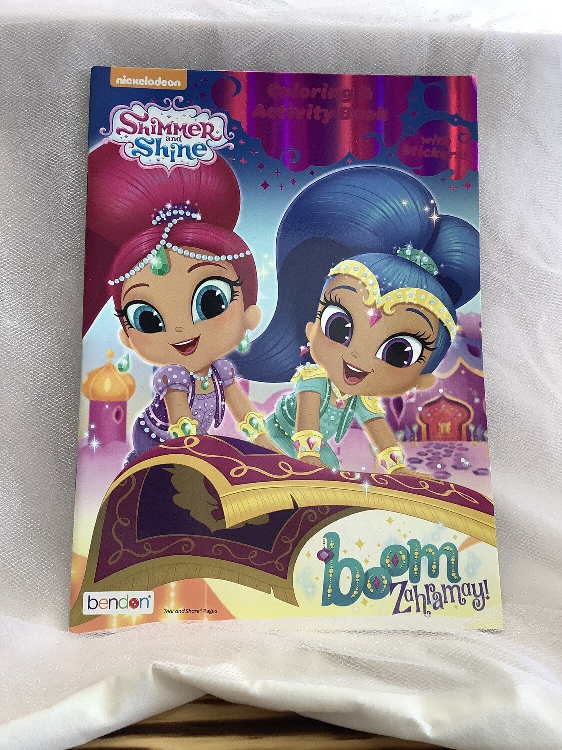 LICENSED COLOR AND ACTIVITY BOOK SHIMMER AND SHINE
