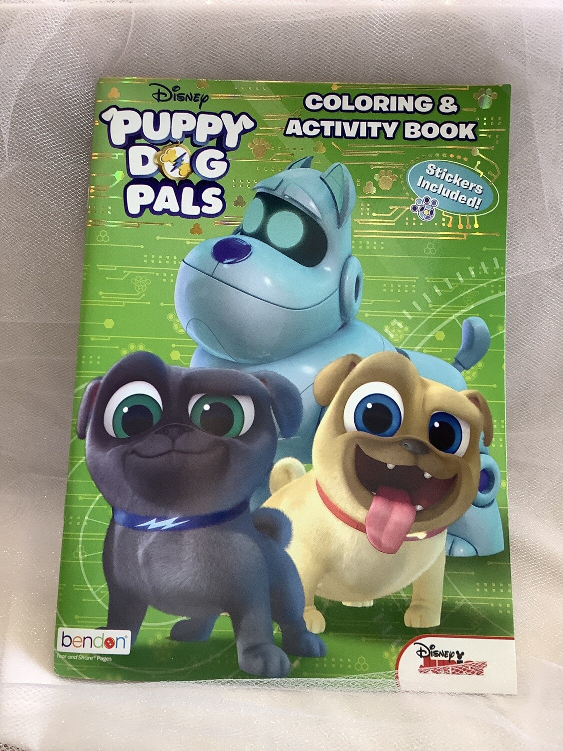 LICENSED COLOR AND ACTIVITY BOOK PUPPY DOG PALS