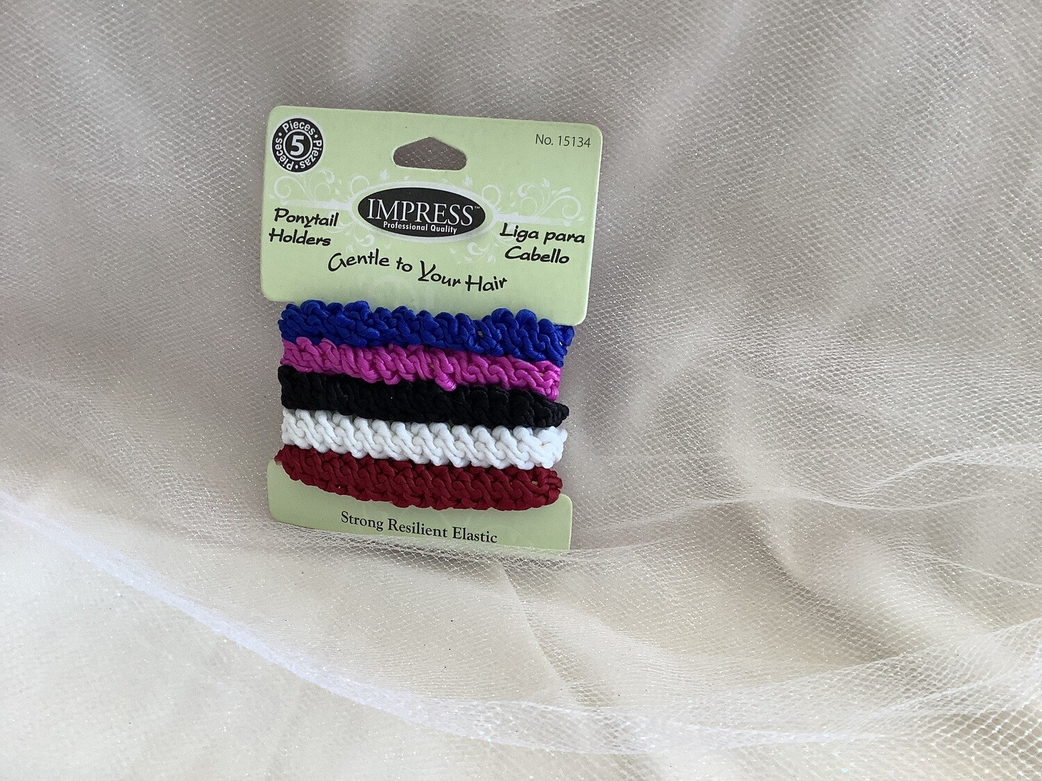 PONYTAIL HOLDERS 5 CT EXTRA THICK