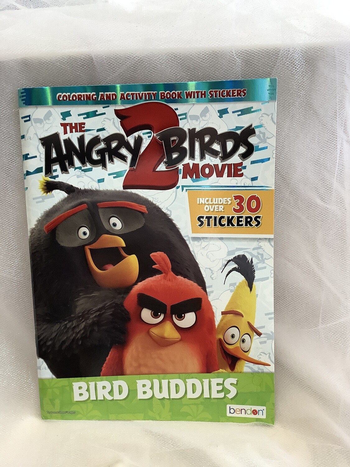 LICENSED COLOR AND ACTIVITY BOOK ANGRY BIRDS