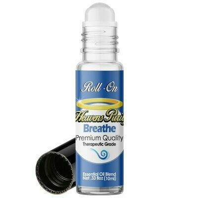ESSENTIAL OIL BLEND ROLL ON --BREATHE