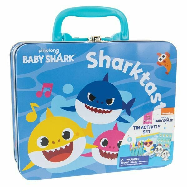 BABY SHARK TIN ACTIVITY