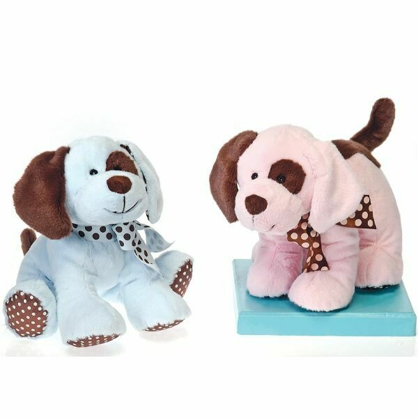 """10"""" PUPPY RATTLE ASSORTED"""