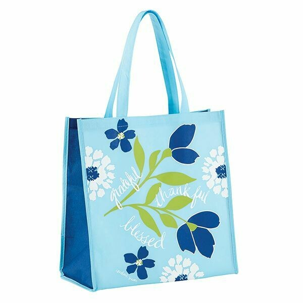TOTE BAG--GRATEFUL THANKFUL BLESSED