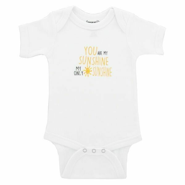 YOU ARE MY SUNSHINE BODYSUIT 0/6 MONTHS
